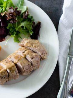 Mustard Glazed Pork Tenderloin | PaleoScaleo.com