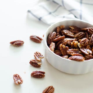 Salted Maple Bacon Pecans