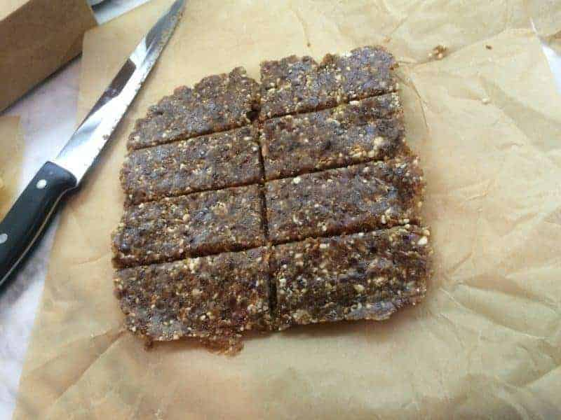 Sweet and Spicy Date Bars   Paleo Scaleo