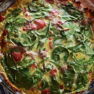 Sweet Potato Crust Quiche| PaleoScaleo.com