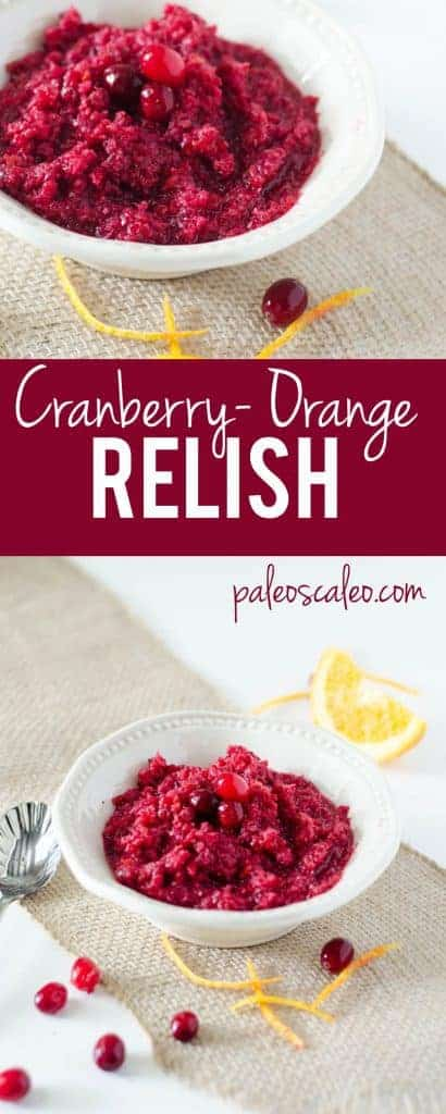 Cranberry Orange Relish | PaleoScaleo.com