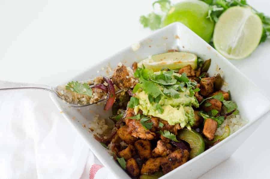 Chipotle Burrito Bowls   paleoscaleo.com