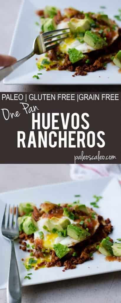 One Pan Huevos Rancheros | PaleoScaleo