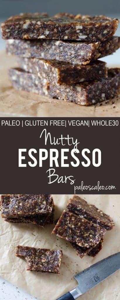 Nutty Espresso Bars | PaleoScaleo.com