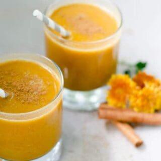 Pumpkin Smoothie | paleoscaleo.com