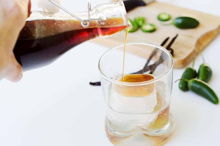 Jalapeno-Vanilla Simple Syrup Recipe | PaleoScaleo.com
