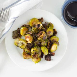 Quick and Easy Roasted Brussel Sprouts