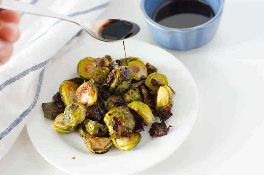 Quick and Easy Roasted Brussel Sprouts | PaleoScaleo.com
