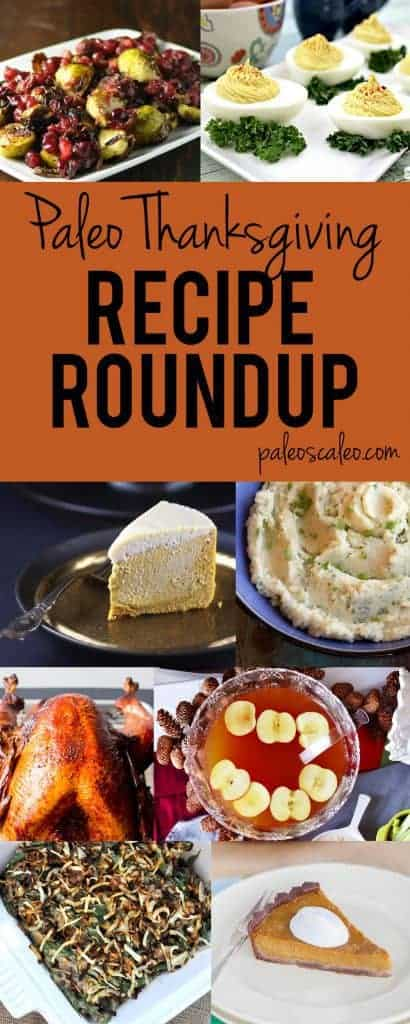 Paleo Thanksgiving Recipe Roundup | PaleoScaleo.com
