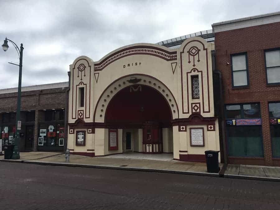 Daisy Theater front Beale Street