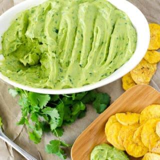 Cumin-Lime Avocado Dip