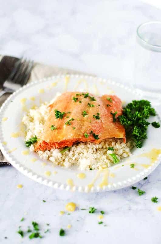 Citrus Salmon | PaleoScaleo.com