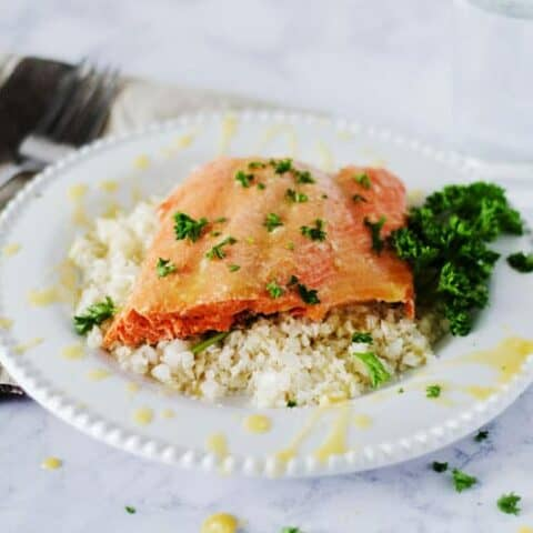 Citrus Glazed Whole30 Salmon