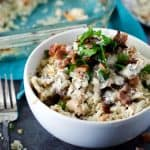 Chicken Bacon Ranch Casserole | PaleoScaleo.com