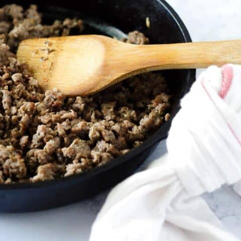Quick and Easy Breakfast Sausage Recipe | PaleoScaleo.com