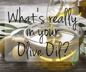 what's really in your olive oil