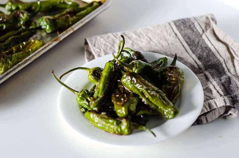 Roasted Shishito Peppers | PaleoScaleo.com