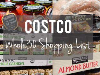 Whole30 Costco Shopping List