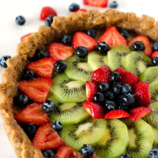 Mixed Fruit Tart with Glaze