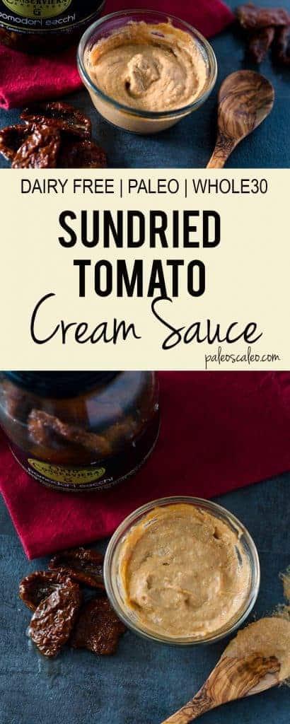 Sundried Tomato Cream Sauce | PaleoScaleo.com