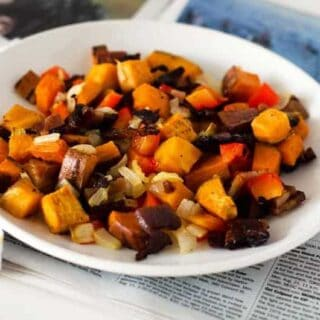 One Pan Sweet Potato Hash