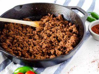 Easy Taco Meat Recipe | PaleoScaleo.com