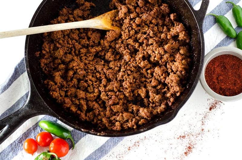 Easy Taco Meat Recipe | PaleoScaleo.com