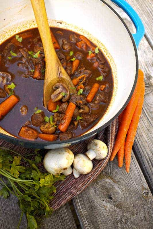 Balsamic Braised Beef Stew Recipe | PaleoScaleo.com