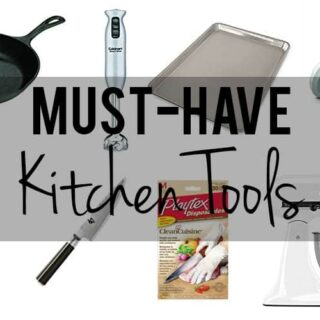 My Must-Have Kitchen Tools
