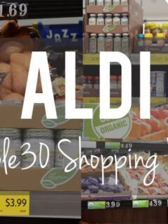 ALDI Whole30 Shopping List