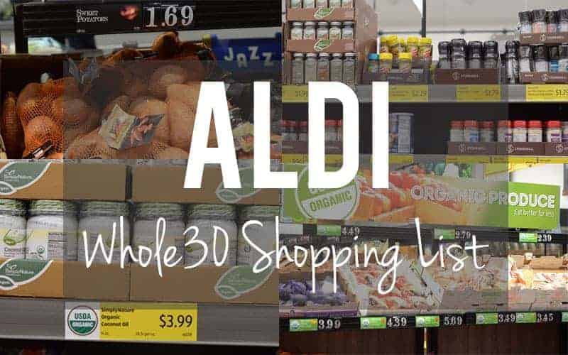 ALDI Whole30 Shopping List