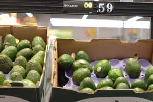 avocados at Aldi