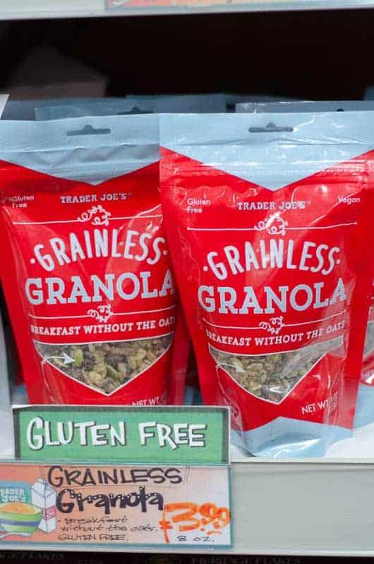 gluten free grain free granola