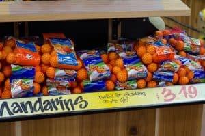 bags of mandarin oranges