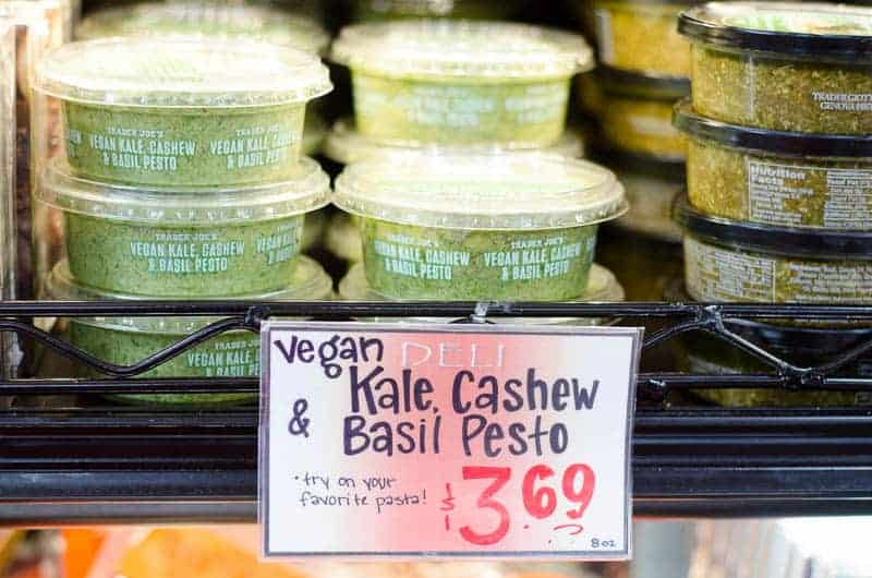 kale, cashew and basil pesto