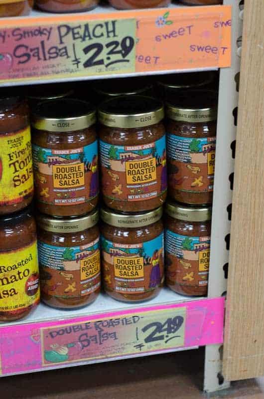 jars of double roasted salsa
