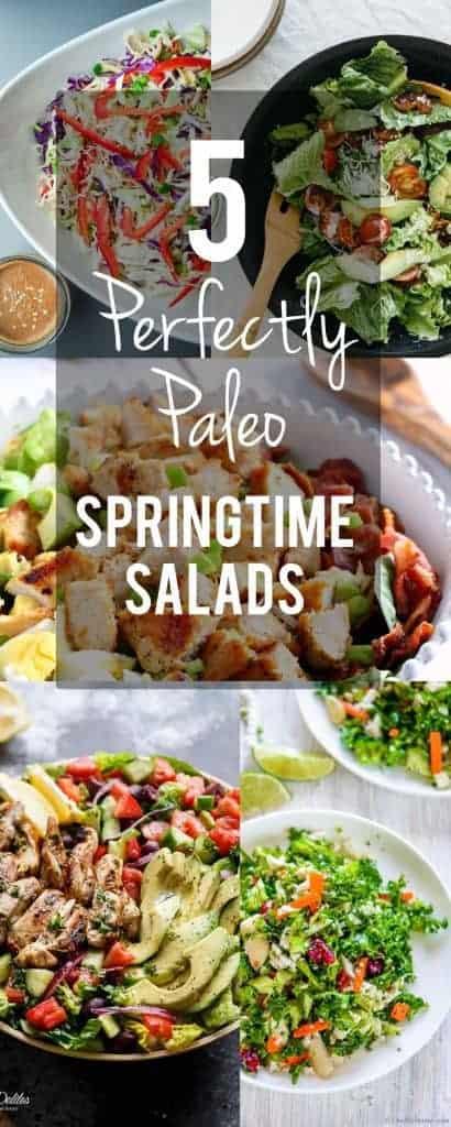 5 Perfectly Paleo Springtime Salads | PaleoScaleo.com