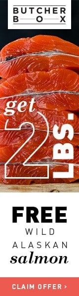2 Free pounds of wild alaskan salmon with your first order!