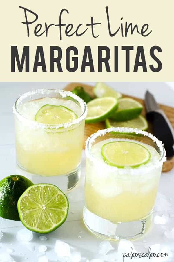 This original margarita recipe combines just 4 ingredients to make you the perfect lime margarita! Easy to make and delicious.
