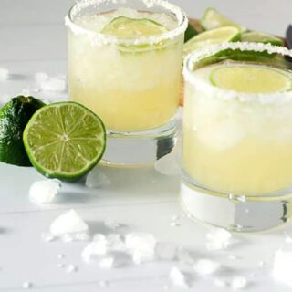 Perfect Classic Lime Margaritas