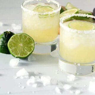 Perfect Classic Lime Margaritas