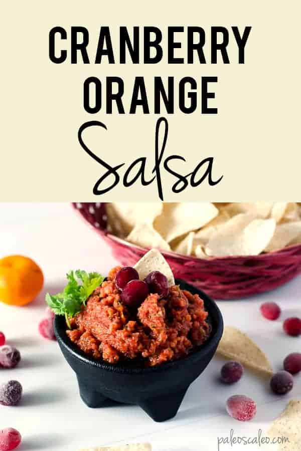This Cranberry Orange Salsa brings a tart and tangy twist to a traditional flavor!