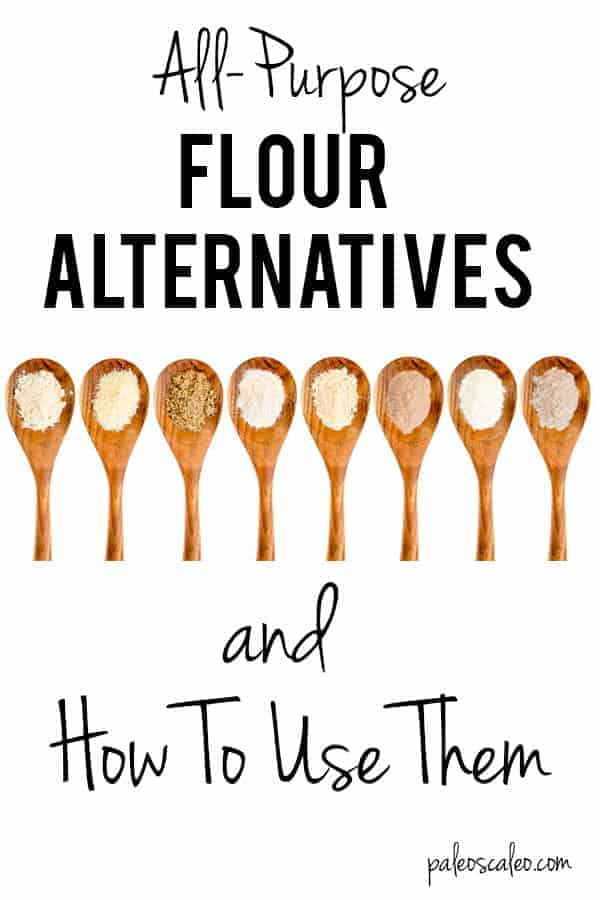 Confused by all the gluten-free and grain-free flours out there? Check out this post for a breakdown of the top 5 all purpose flour alternatives and how to use them!