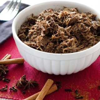 Gingerbread Spiced Instant Pot Pulled Pork