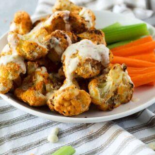 Shake n' Bake Buffalo Cauliflower Wings