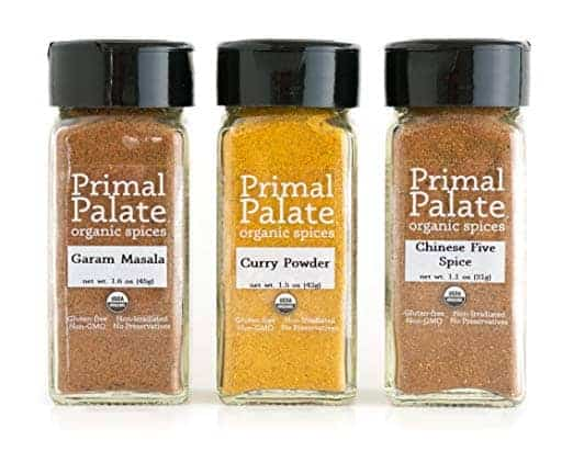 jars of primal palate seasonings