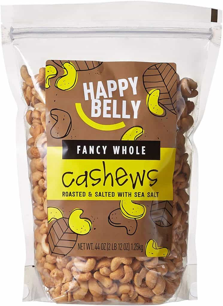 bag of happy belly cashews
