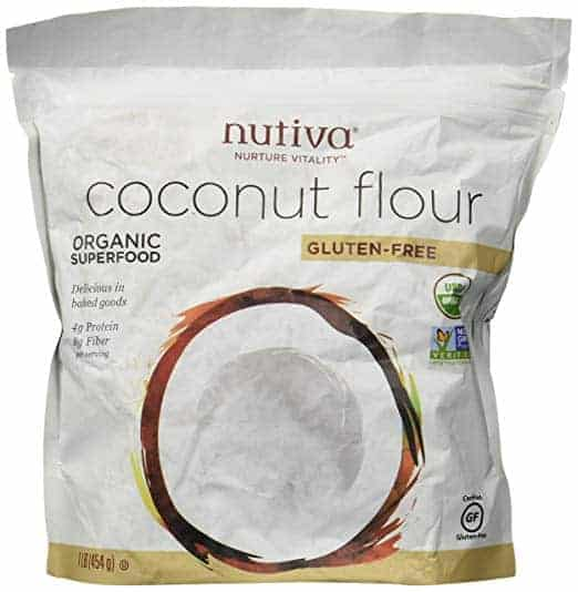 bag of nutiva coconut flour