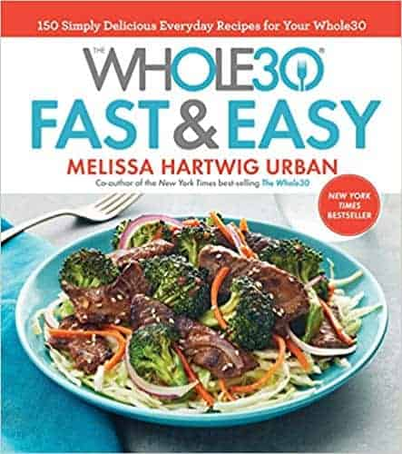whole30 fast and easy cookbook front