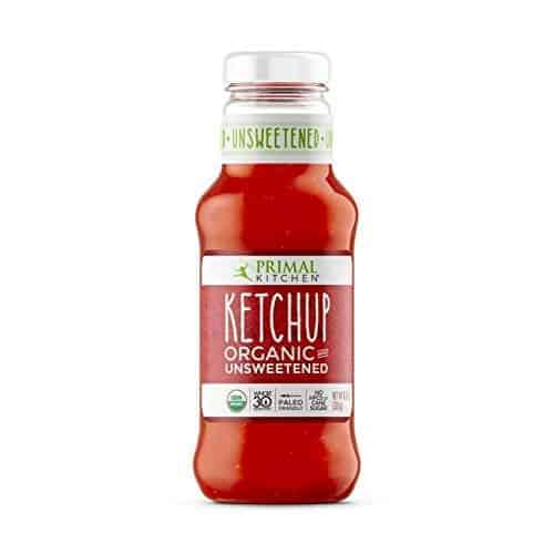 Primal Kitchen ketchup bottle